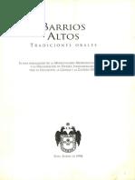 Barrios Altos Tradiciones Orales