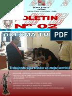 BOLETIN N° 02 ODECMA