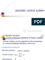 TF of Automatic Control System