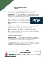 Listado de Normas Hidrosanitarias