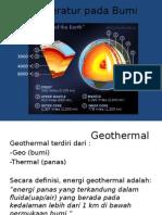 Pengenalan Dan Potensi Geothermal Di Indonesia