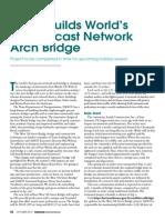 Texas Precast Network Arch Bridge