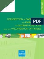 Conception Et Fabrication Des Emballages en Matiere Plastique