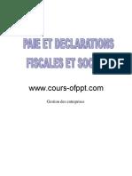 Paie Et Declarations Fiscales Et Sociales