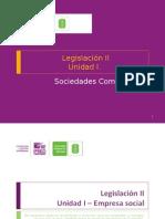 Empresa Social Comercial LEGISLACION