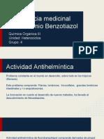 Benzotiazoles. Q.O. III