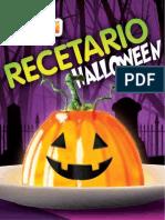 Recetas Recetarios Halloween