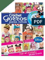 Crochet instrucciones gorros infantiles
