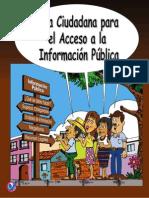 Guía Ciudadana Para El Acceso a La Información Pública