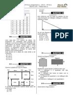 1ª P.D - 2013 (Mat. 9º Ano - Blog Do Prof. Warles)