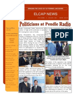 ELCAP E-Newsletter Issue 30 - Apr 2015