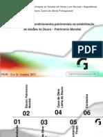 A Influência Das Condicionantes Patrimoniais Na Estabilização de Taludes No Douro