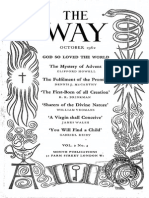 The Way 1962 Lectio Divina