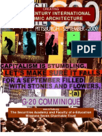 A 21st Century International Economic Architecture