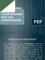 1877271077.SUBCULTURAS Y COMPORTAMIENTO DEL CONSUMIDOR 2.pptx