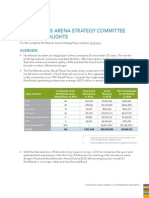 Northlands Arena Strategy Committee Report Highlights