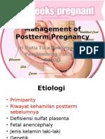 Management of Postterm Pregnancy
