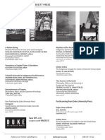 Duke University Press program ad for the Native American Indigenous Studies Association conference 2015