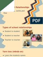 plc presentation--student rapport