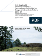 15. Guía Simplificada de Ordenamiento Territorial Honduras
