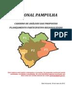 Caderno Pampulha