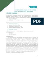 2ª Circular Jornadas IDAES 2015