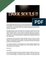 Guia Completa Dark Souls II