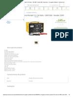 Carregador de Bateria Portátil 12 _ 24 Volts - CBV1500 - Vonder 220V -Automotivo - Carregador de Bateria Carregador De Bateria Portátil 12 _ 24 Volts - CBV1500 - Vonder 220V -Automotivo - Carregador de Bateria -