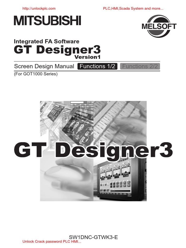 GT Designer 3 Manual [Unlockplc com] | Scada | Programmable