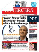 Diario La Tercera 15.04.2015