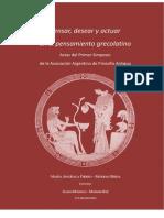Actas I Simposio Nacional de Filosofia Antigua
