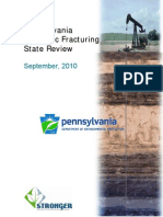 Pennsylvania Hydraulic Fracturing State Review_Stronger, 2010