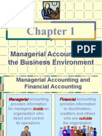 Introduction to Managerial Acct Lecture 1