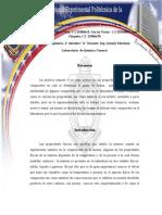 Propiedades Físicas de Los Compuestos Informe. Muchasss