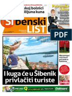 Sibenski list, 16. travnja 2015