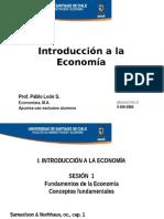 1. Algunos Fundamentos economia
