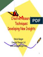 Creative Research Techniques