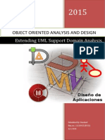 Extending UML to Support Domain Analysis