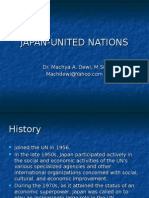 JAPAN-UNITED NATIONS.ppt