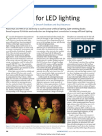 Prospects for LED lighting