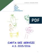 Carta Servizi Cipì 2015/2016
