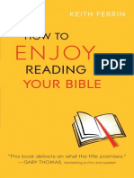 How to Enjoy Reading Your Bible