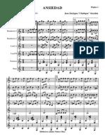 Ansiedad.orquesta, Voz e Instrumentos.solfeo y Cifra