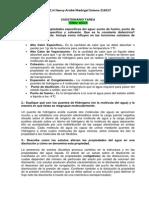 Cuestionario de Agua (bioquímica)