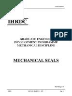 Mechanical Seals Module
