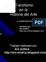 Roma Antigua. El Erotismo en La Historia Del Arte.