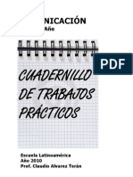 Comunicacion Cuaderno de Practicos 2010