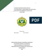 Laporan KLINIK SANITASI  Bab II & III