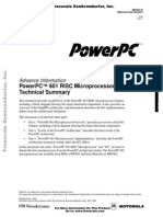 PowerPC™ 601 RISC Microprocessor Technical Summary