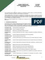 COVENIN 0633-2001 Concreto Pre-mezclado